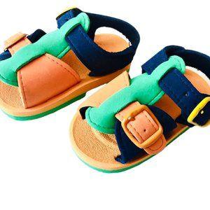Multicoloured Foam Sandals